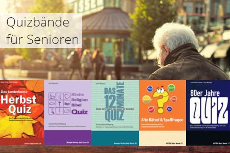 Auswahl der Quizbände für Senioren